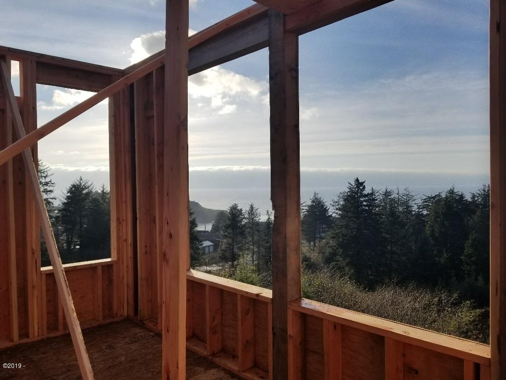 735 Lillian Ln, Depoe Bay, OR 97341 - Ocean View Home