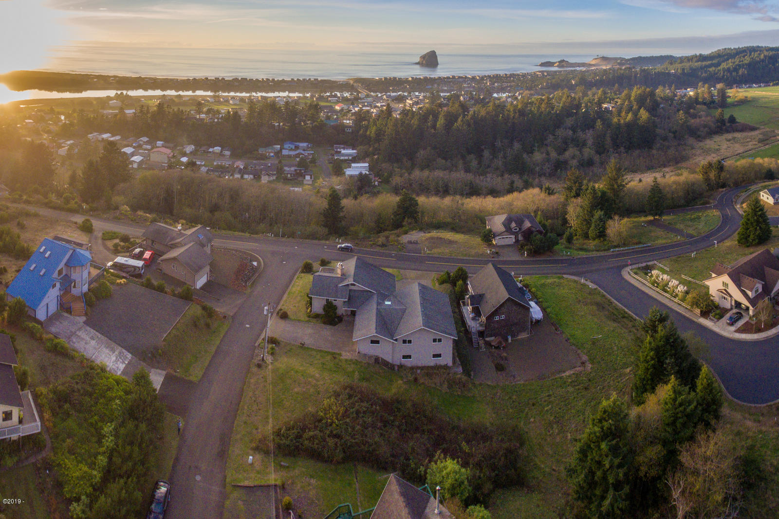 LOT 500 Dana Lane, Pacific City, OR 97135 - aerial