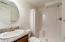 2250 NE Surf Ave., Lincoln City, OR 97367 - Garden level full bathroom