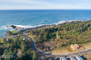 LOT 12 Lillian Ln., Depoe Bay, OR 97361 - Aerial of Whale Watch & Surrounding Area