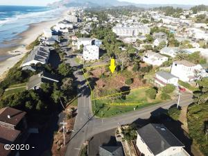 1142 NW 13th (lot 3,4,5) Street, Lincoln City, OR 97367 - Combo Lots Aerial