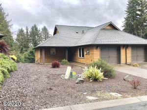 3132 NE Cascara Ct, Lincoln City, OR 97367 - Front View of Home