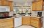 1173 NW Tawn Mar Dr, Seal Rock, OR 97376 - Kitchen with  a View