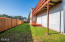 112 NE 55th St, Newport, OR 97365 - back yard