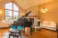 3132 NE Cascara Ct, Lincoln City, OR 97367 - Living Room with high  ceilings
