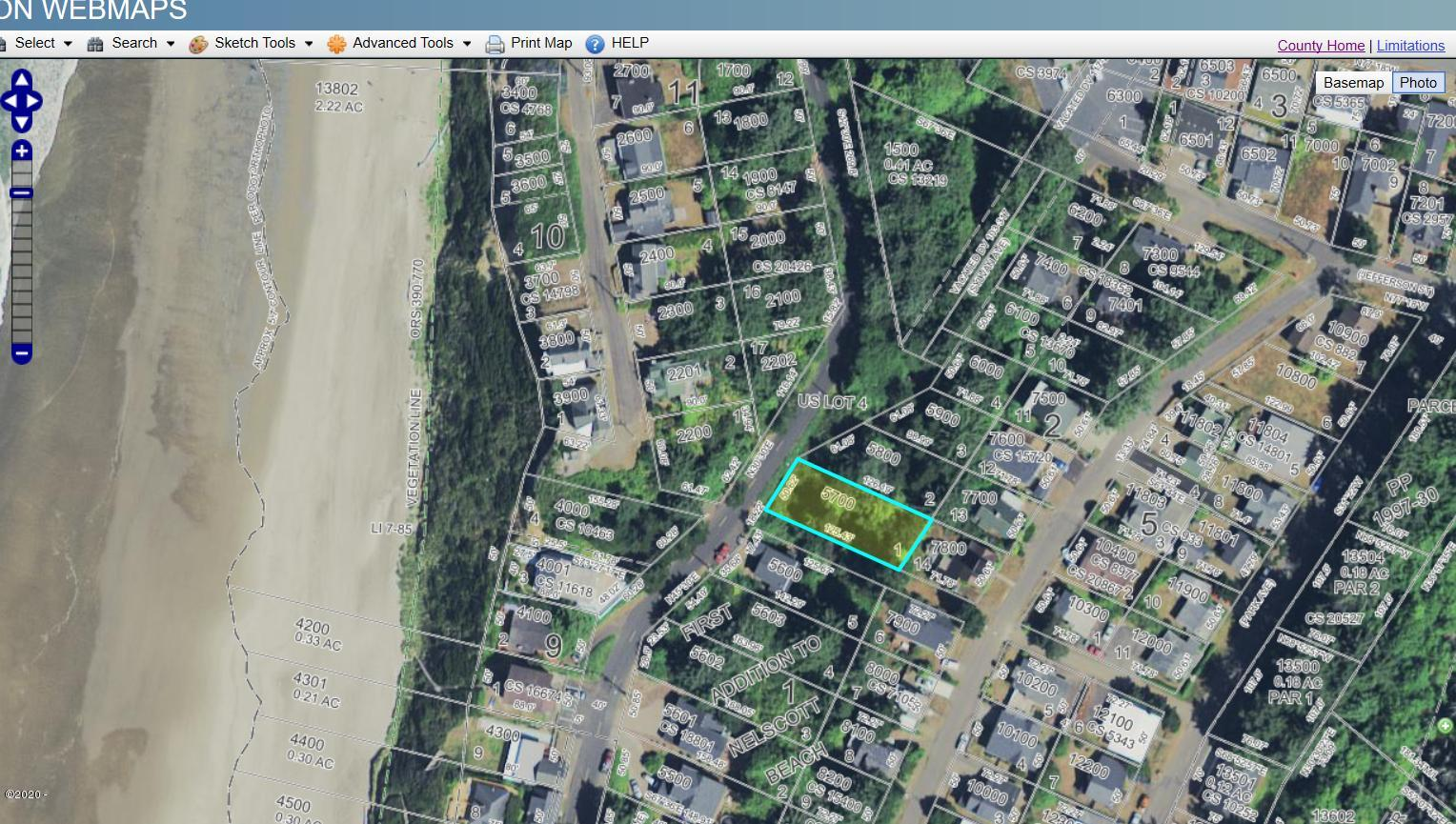 2972 SW Anchor Ave, Lincoln City, OR 97367 - Aerial County Map