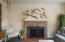 1442 NW Nye St, Newport, OR 97365 - Fireplace