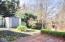 123 NE 35th St, Newport, OR 97365 - Back Yard Garden Shed
