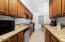 20 NW Sunset St, M-1, Depoe Bay, OR 97341 - Easy Galley Style Kitchen
