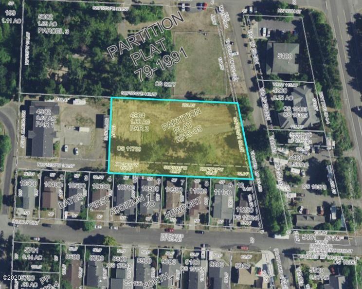 T/L4904-0 Biggs St, Newport, OR 97365 - Map of Property