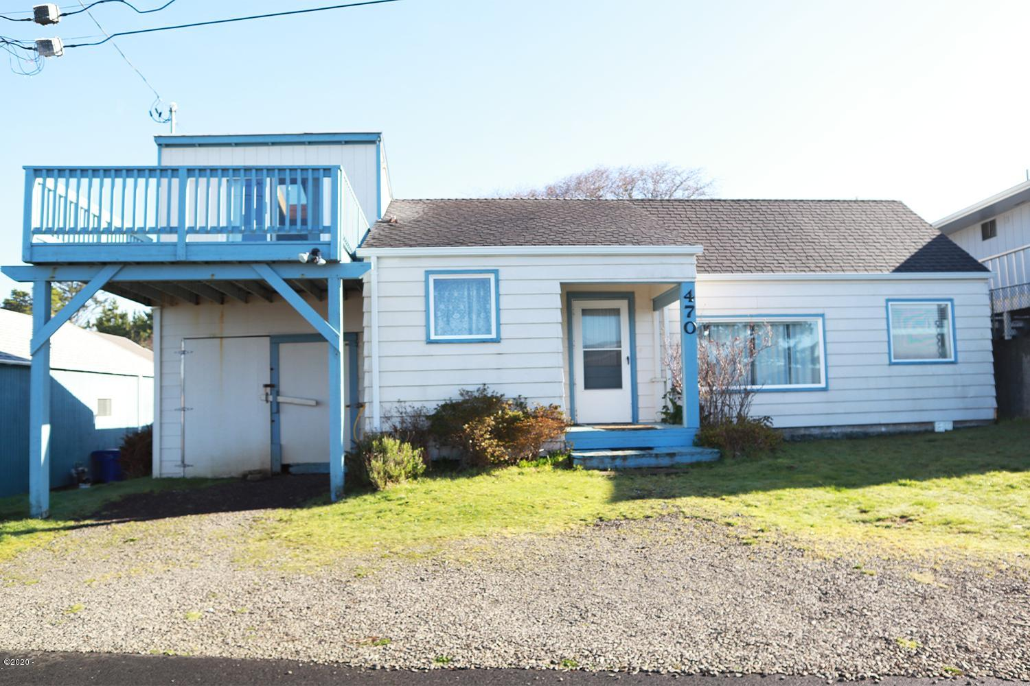 470 SW Coast Ave, Depoe Bay, OR 97341 - Front of home
