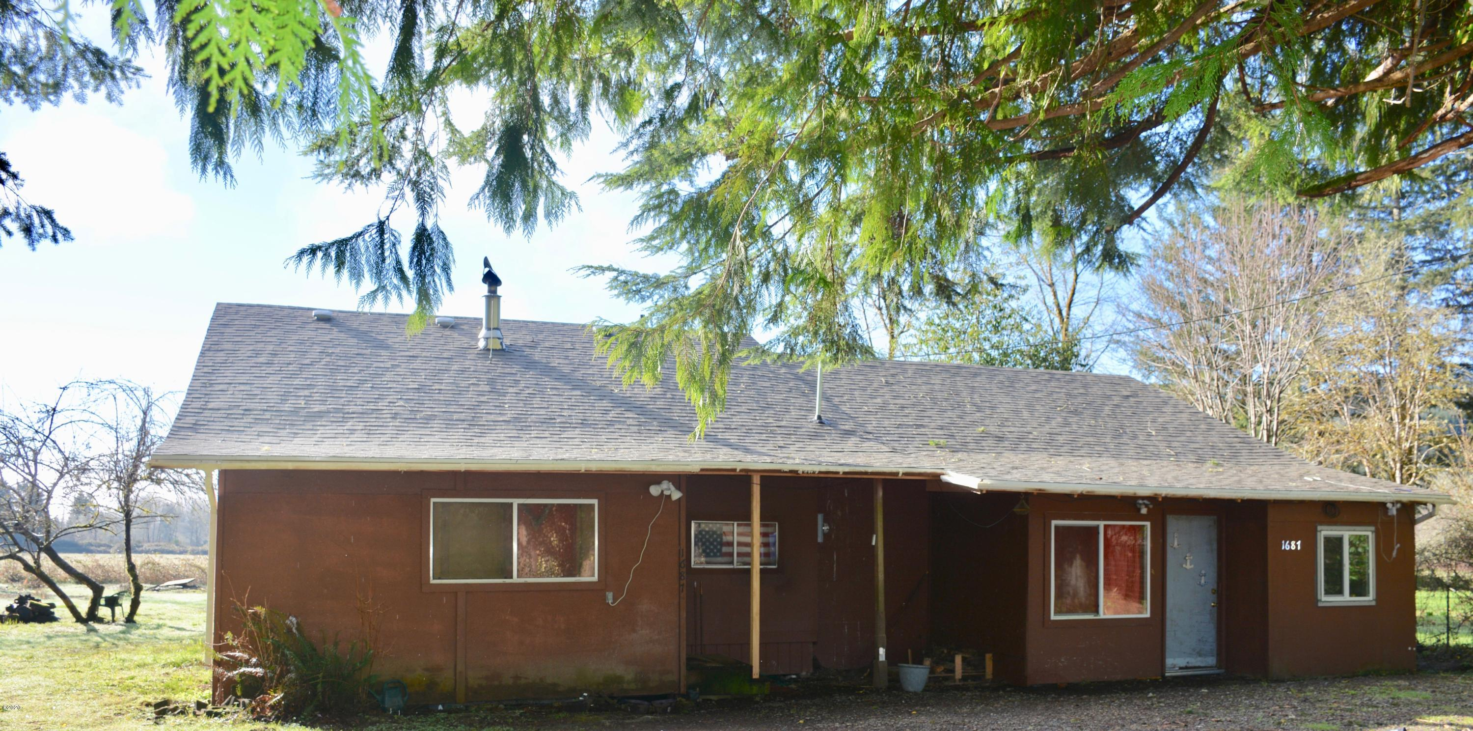 1687 Moonshine Park Rd, Logsden, OR 97357 - Front of home