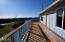 1708 NW Westward St, Waldport, OR 97394 - Upper level deck has small ocean view