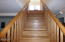 532 SW Smith Ct, Newport, OR 97365 - Den stairs