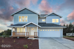 4211 SE Jetty Ave, Lincoln City, OR 97367 - Front of home
