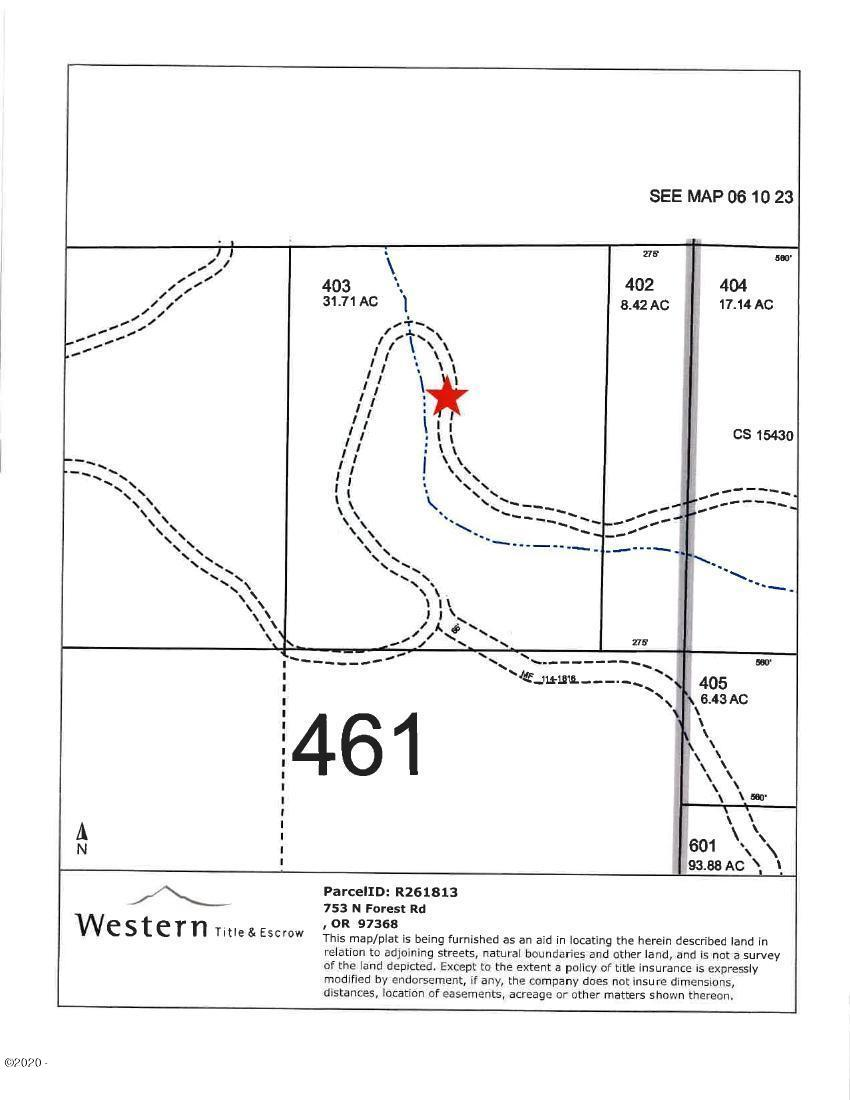 753 Forest Rd, Otis, OR 97368 - Almost 32 Acre's