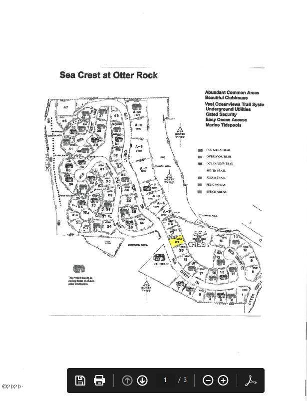 21 Sea Crest Dr, Otter Rock, OR 97369 - Map