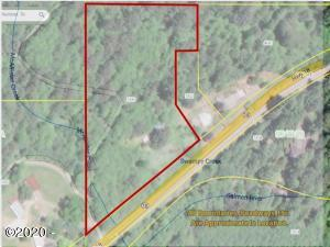 8307 Salmon River Hwy, Otis, OR 97368 - GIS with Road Map Overlay
