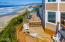 1110 NW 8th Ct., Lincoln City, OR 97367 - Aerial of patio & deck