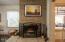444 NE Beech St, Toledo, OR 97391 - Fireplace 2