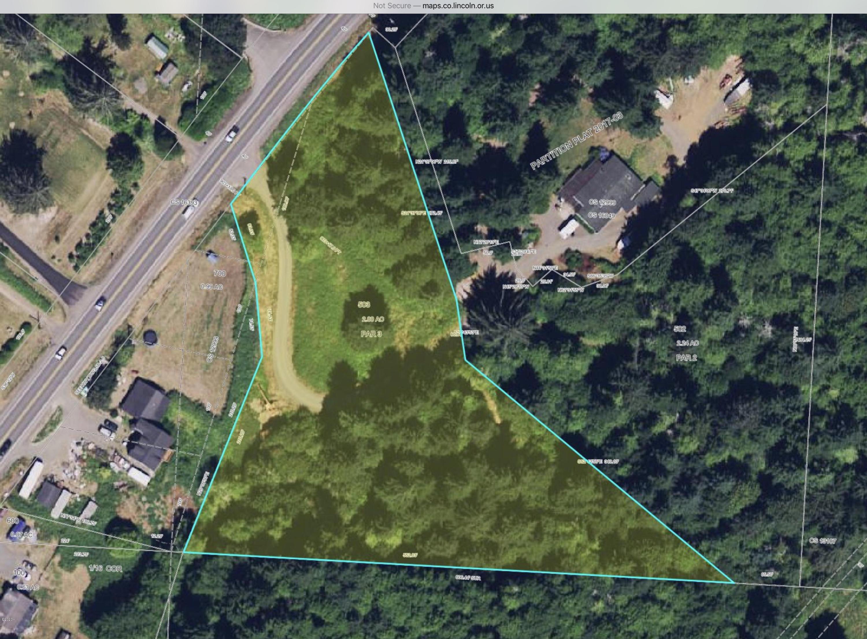 TL 503 Salmon River Hwy, Otis, OR 97368 - Assessors Map