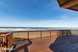 6245 Logan Rd, Lincoln City, OR 97367 - Ocean Front Deck & View