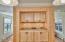 1335 NE Warner Park, Lincoln City, OR 97367 - Dining Room Built In