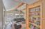 1335 NE Warner Park, Lincoln City, OR 97367 - Living Room & Built In