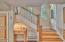 1335 NE Warner Park, Lincoln City, OR 97367 - Stair Case & Door to Back Yard