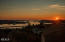169 SE View Dr, Newport, OR 97365 - sunset from home