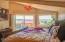 169 SE View Dr, Newport, OR 97365 - Master bedroom with view.