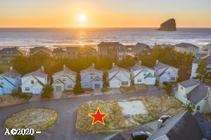 LOT 17 Four Sisters Ln, Pacific City, OR 97135 - Aerial: Looking West
