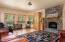 2536 Nashville Rd, Eddyville, OR 97343 - Great Room / custom fireplace