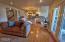 66 Olalla Pl, Toledo, OR 97391 - Family room to kitchen