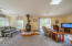 1045 Hidden Valley Rd, Toledo, OR 97391 - Living room with wood stove