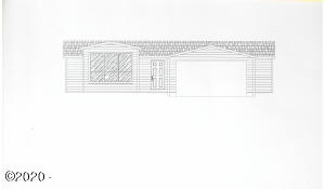 1135 SW Sailfish Loop, Waldport, OR 97394 - Front view