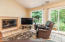 1635 SW Tintinnabulary Pl, Depoe Bay, OR 97341 - Fireplace in den