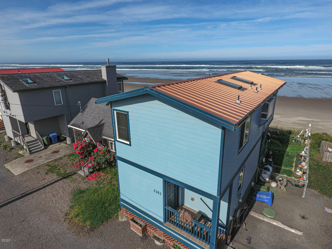 5362 SW Pacific Coast Hwy, Waldport, OR 97394 - Drone