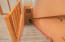 5362 SW Pacific Coast Hwy, Waldport, OR 97394 - stairway to lower level