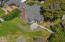 161 NW Kansas St, Yachats, OR 97398 - Overhead view of back yard