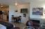 301 Otter Crest Dr, 350-351, Otter Rock, OR 97369 - Living/dining to kitchen