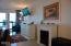 301 Otter Crest Dr, 350-351, Otter Rock, OR 97369 - Electric fireplace in bedroom