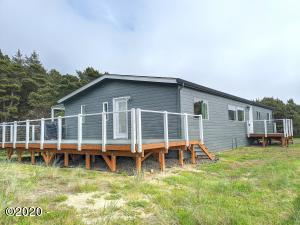 4929 NW Sandy Dr, Seal Rock, OR 97376 - Front Of The Home