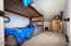 110 NW Oceania Dr, Waldport, OR 97394 - Loft with bunkbeds