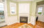 1859 NW 51st St, Lincoln City, OR 97367 - Master bedroom fireplace