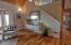 9040 NW Grandview St, Seal Rock, OR 97376 - Kitchen to Staircase