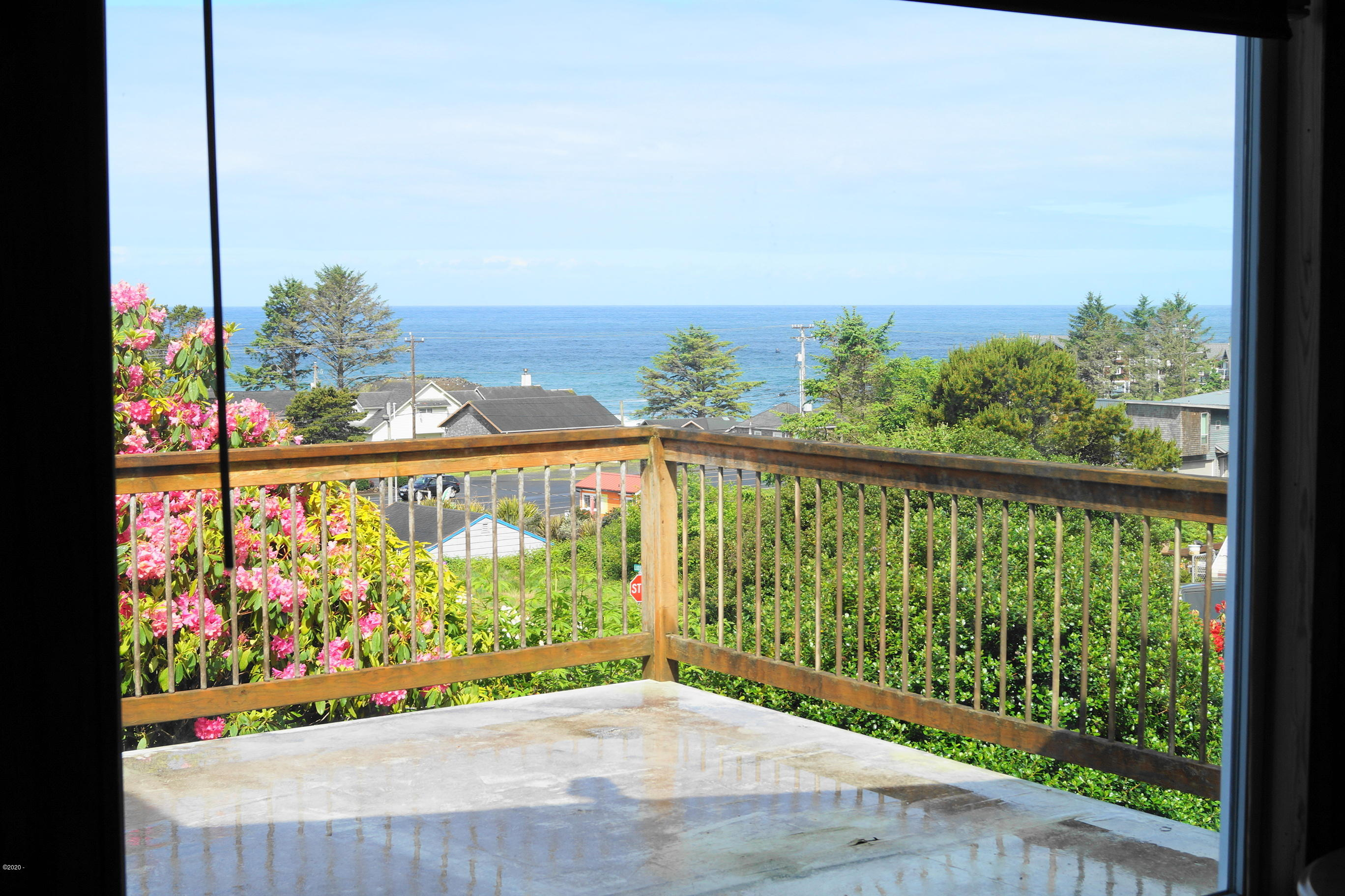 120 NE Ludson Pl, Depoe Bay, OR 97341 - View from living room