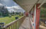 1506 NE Yaquina Heights Dr, Newport, OR 97365 - Large deck.