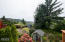 4521 SE High School Dr, Lincoln City, OR 97367 - Drone of terraced backyard