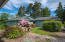 5965 La Plaza Pl, Lincoln City, OR 97367 - House front Rhodies